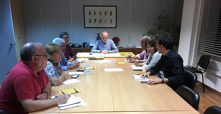 Reunião com comissões de utentes